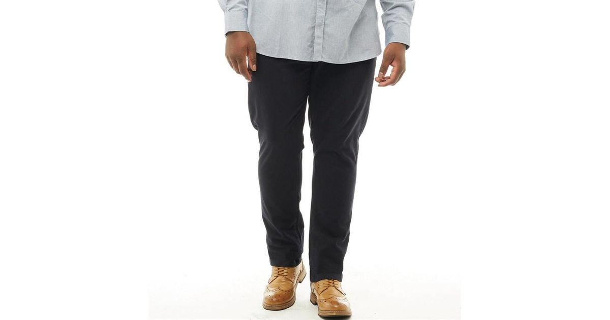 5b5aa4a736e31 French Connection Plus Size James 5 Pocket Chinos Marine in Blue for Men -  Lyst