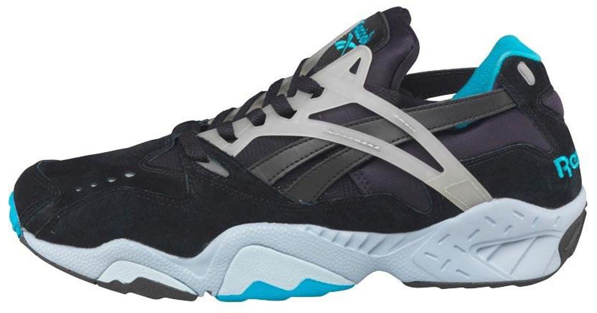 718edb18fa1f Reebok Graphlite Pro Glow In The Dark Trainers Black gable Grey caribbean  Teal white in Black for Men - Lyst