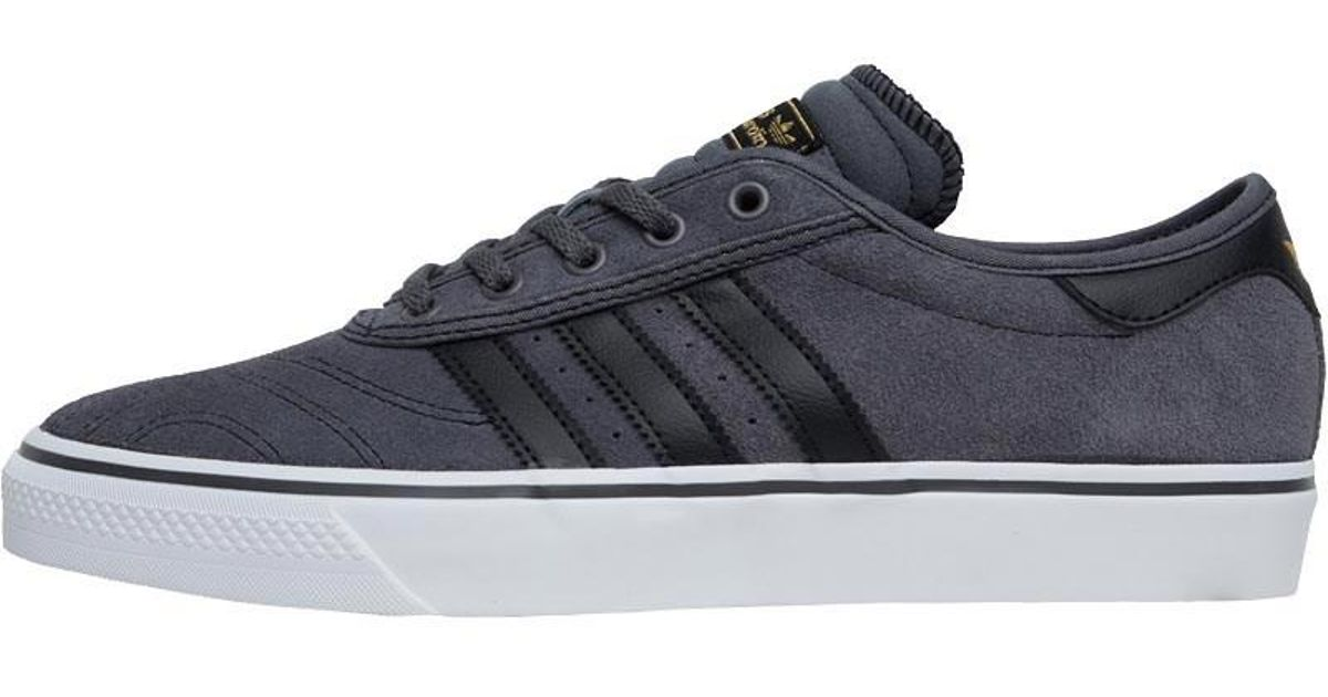 f04bcec0fa03 adidas Originals Adiease Premiere Trainers Grey Five core Black footwear  White in Gray for Men - Lyst