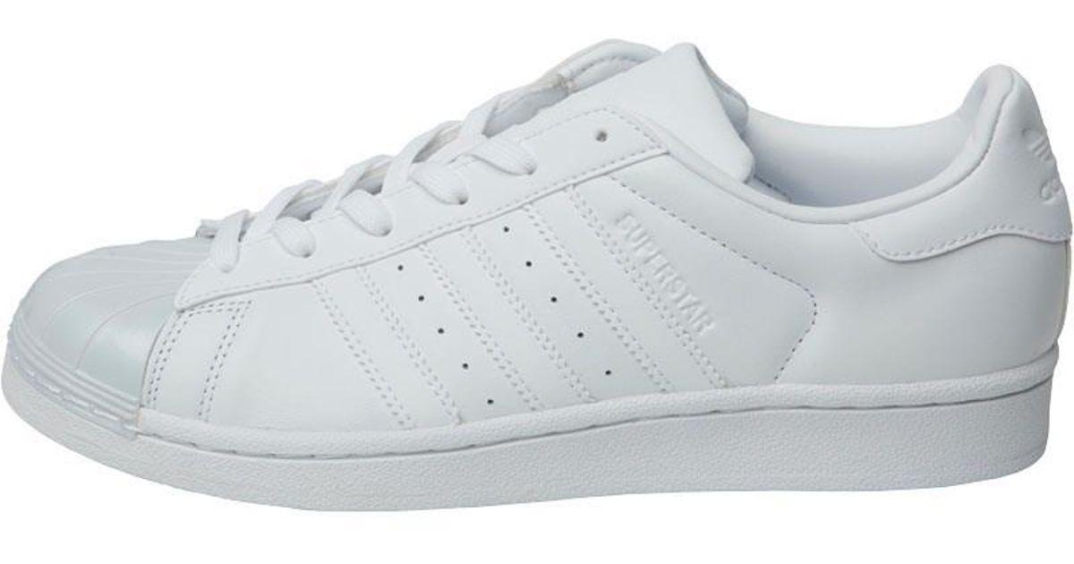 adidas superstar lucida i formatori originali bianca / white / core
