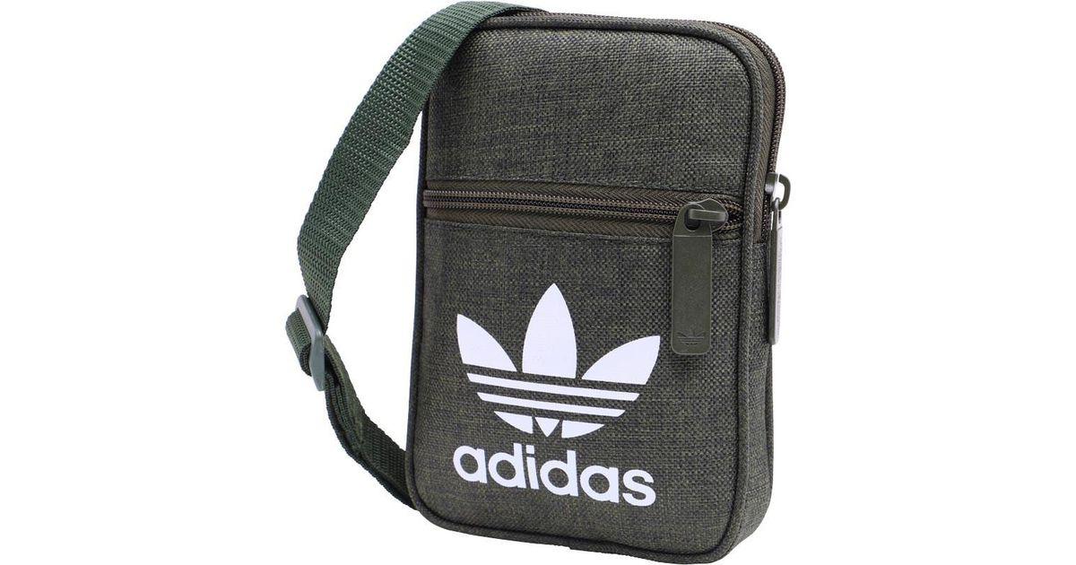 e4d2a7600b0c Adidas Originals Casual Festival Bag Night Cargo in Green for Men - Lyst