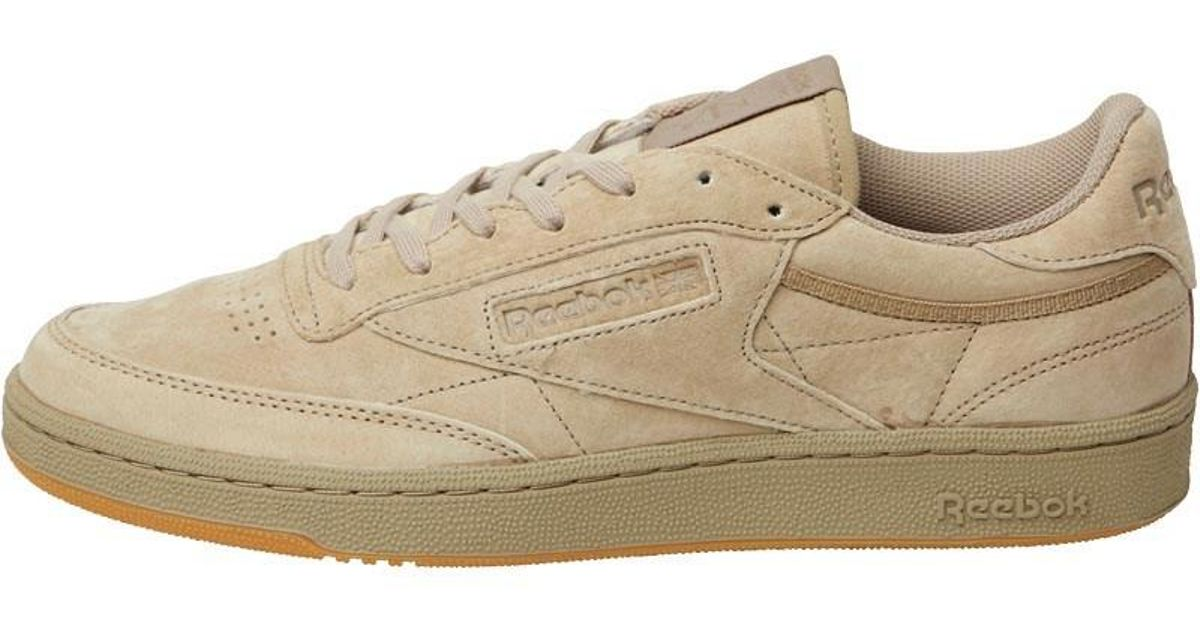28b106da3bfdad ... Reebok Club C 85 Tg Trainers Canvasgum in Brown for Men - Ly ...
