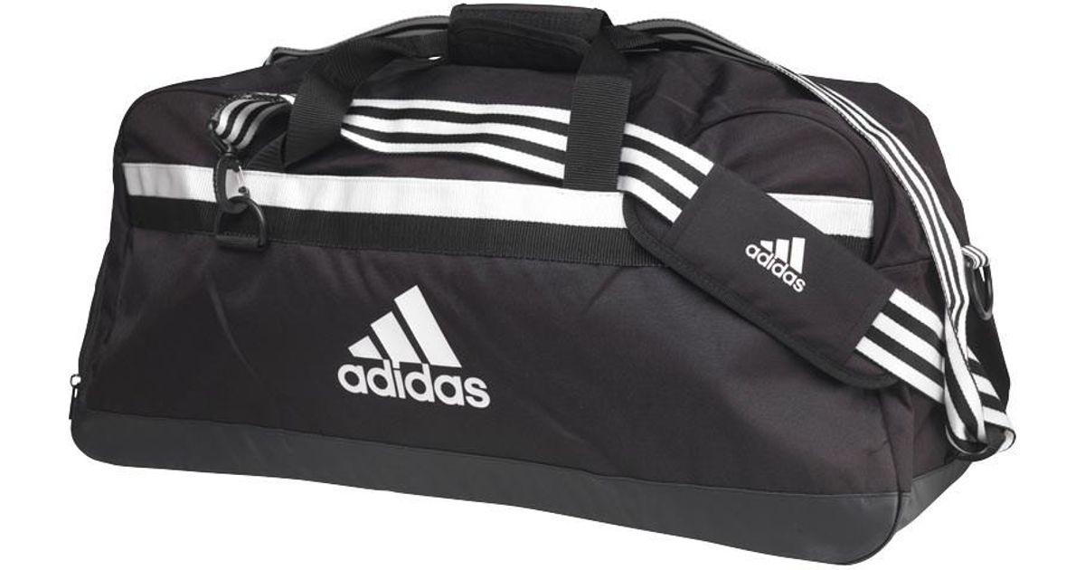 adidas Tiro 15 Team Bag Large Black white in Black for Men - Lyst e89d0c9164534