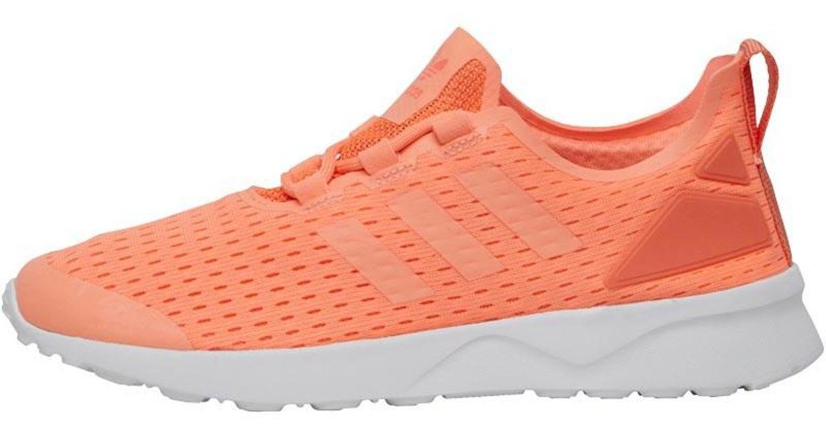 d6d5f3580 adidas Originals Zx Flux Adv Verve Trainers Sun Glow sun Glow orange in  Orange - Lyst