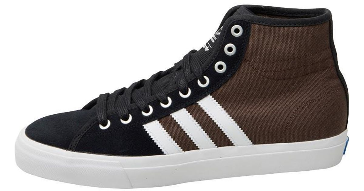 adidas Originals Skateboarding Matchcourt Rx Trainers Core  Black white custom in Black for Men - Lyst 12ff1fef71aa