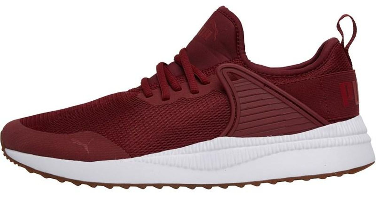 947ffcbf145d Puma Pacer Next Cage Trainers Pomegranate for Men - Lyst