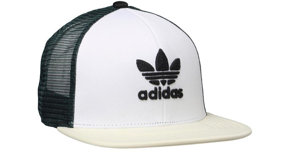 b943850a adidas Originals Trefoil Heritage Trucker Cap Black/white/missun in Green  for Men - Lyst