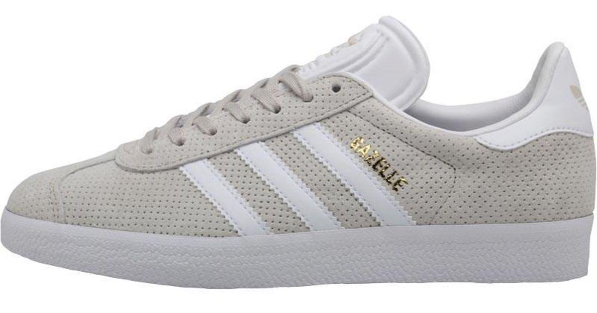 ec5da82003b3 ... amazon adidas originals gazelle trainers clear brown footwear white  gold metallic in metallic lyst eb1c5 63431
