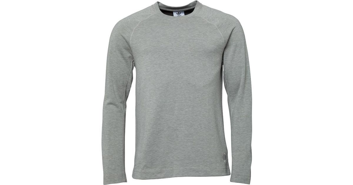 free shipping 27a32 60eaf adidas Originals X Wings + Horns Long Sleeve T-shirt Sesame in Gray for Men  - Lyst