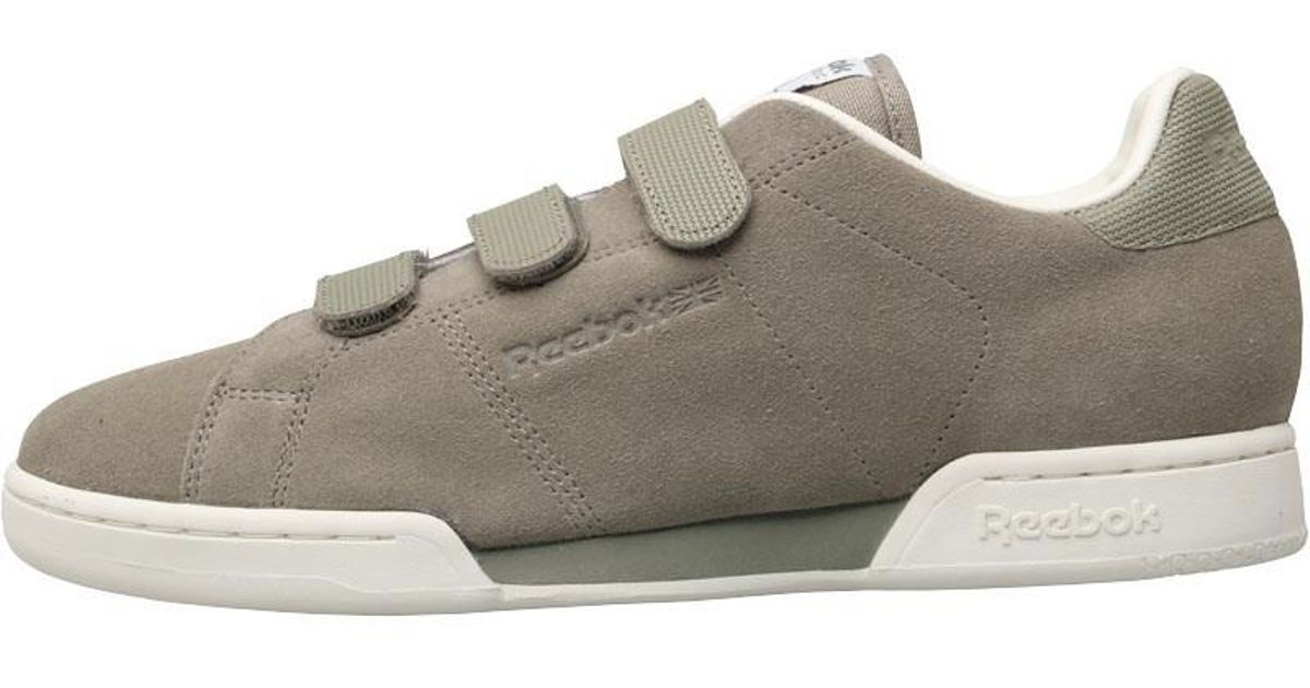 Reebok Classics Npc Straps Trainers Khaki classic White Rugged Maroon in  Natural for Men - Lyst 93269015b