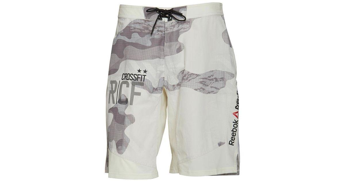 590c59d154e Reebok Crossfit Cordura Playdry Dwr Super Nasty Tactical Shorts Chalk in  Gray for Men - Lyst