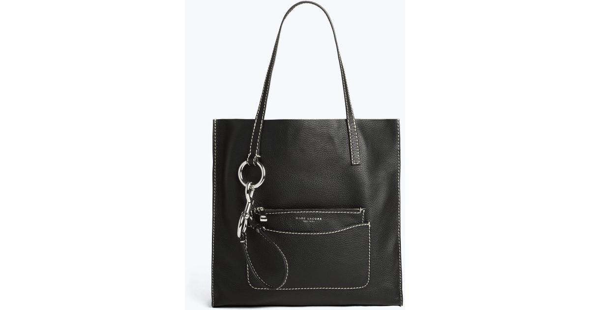 f94191c8cd53 Lyst - Marc Jacobs The Bold Grind Shopper Tote Bag in Black
