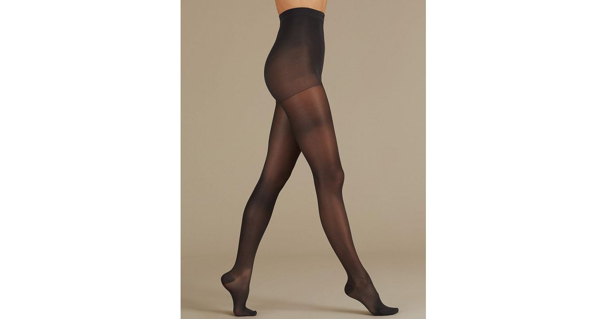 aad7c68d1d8 Marks   Spencer 20 Denier Firm Support Sheer Tights - Lyst
