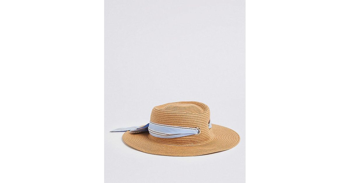 d641f0bf Lyst - Marks & Spencer Kids' Floppy Hat With Sun Smart Upf50+ (3-14 Years)