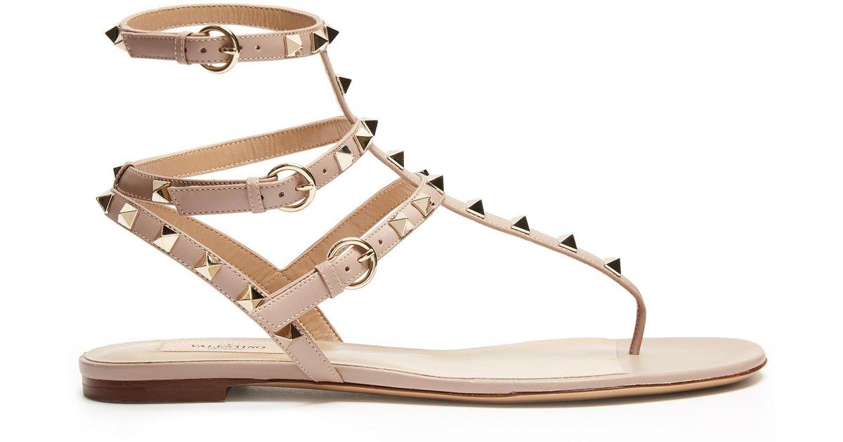 PiecesPSCARMEN - T-bar sandals - nude/multicolor 4fQmXzO