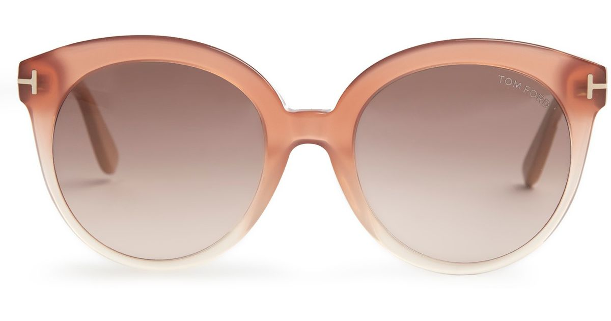 6a162482f0 Tom Ford Monica Acetate Sunglasses in Pink - Lyst