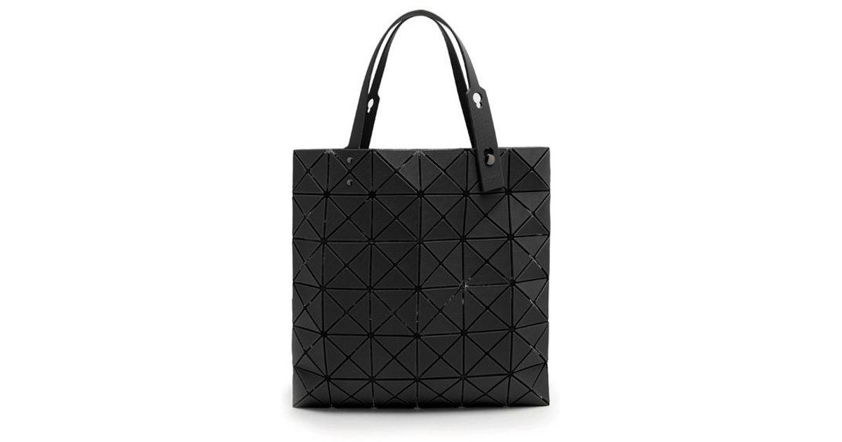 00244069595c Lyst - Bao Bao Issey Miyake Lucent Twill Tote in Black
