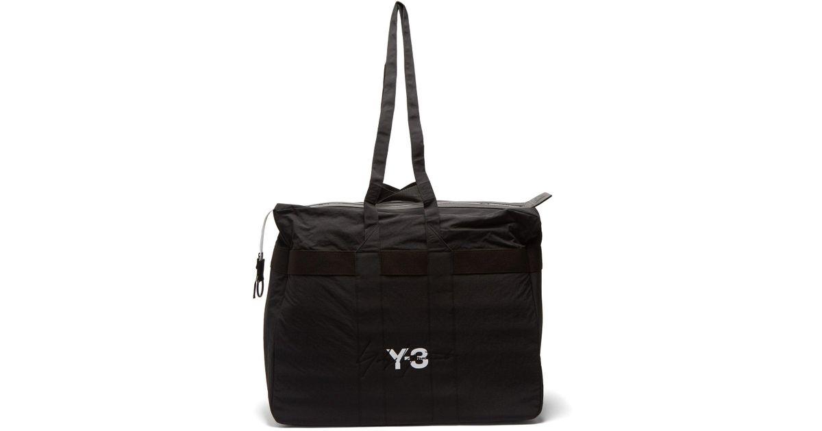 3b9ee5c6fb2 Lyst - Y-3 Xl Weekender Bag in Black for Men