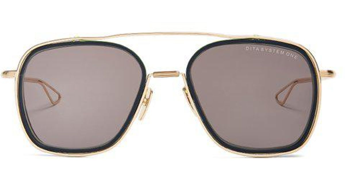 319d5214d248 Lyst - Dita Eyewear System-one Aviator Sunglasses in Black for Men