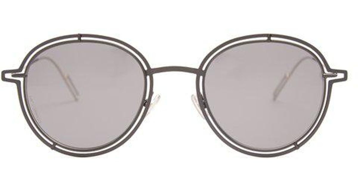 2fbaab9517b9 Lyst - Dior Homme Dior0210s Round-frame Sunglasses for Men