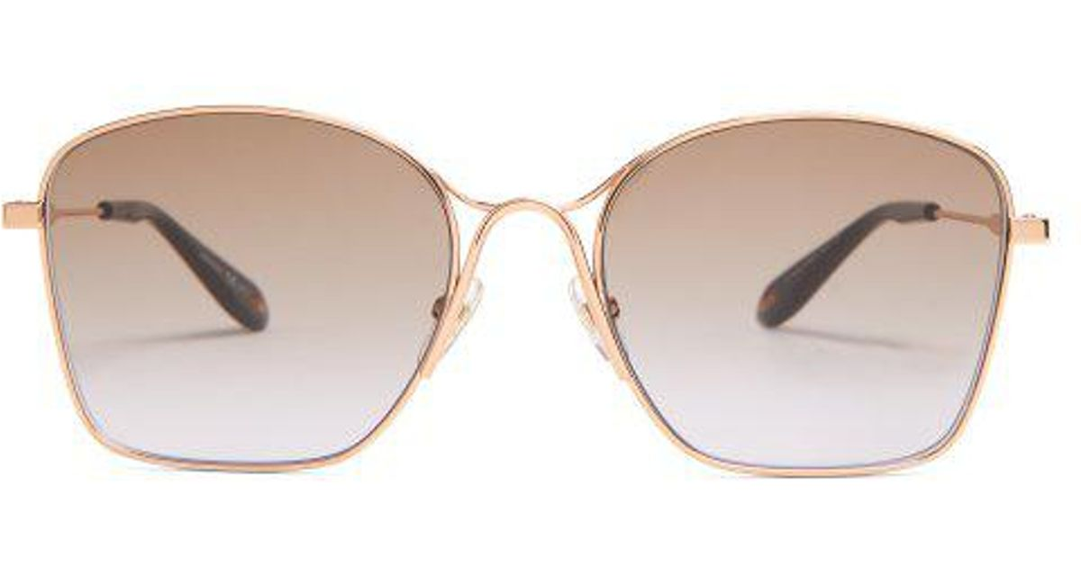 91f5a674c2 Givenchy Square-frame Metal Sunglasses - Lyst