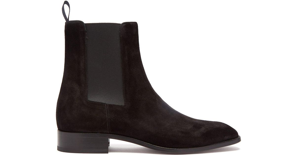 67a47d0137f7 Lyst - Christian Louboutin Samson Chelsea Boot in Black for Men - Save 14%