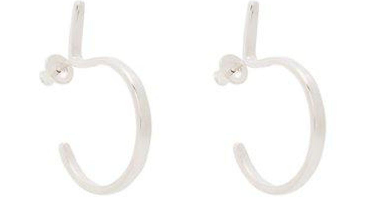 Fay Andrada Alefia sterling-silver hoop earrings P39XiXC