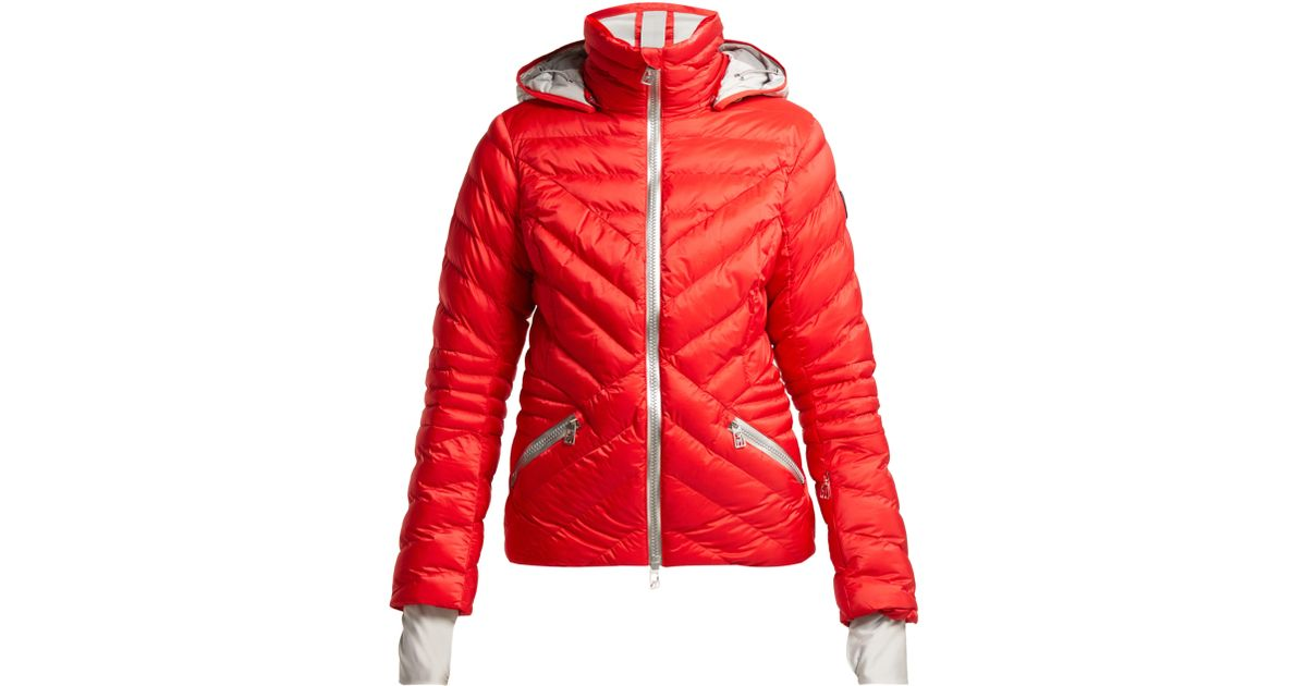aa4ac5d7db820 Toni Sailer Clementine Quilted Ski Jacket in Red - Lyst