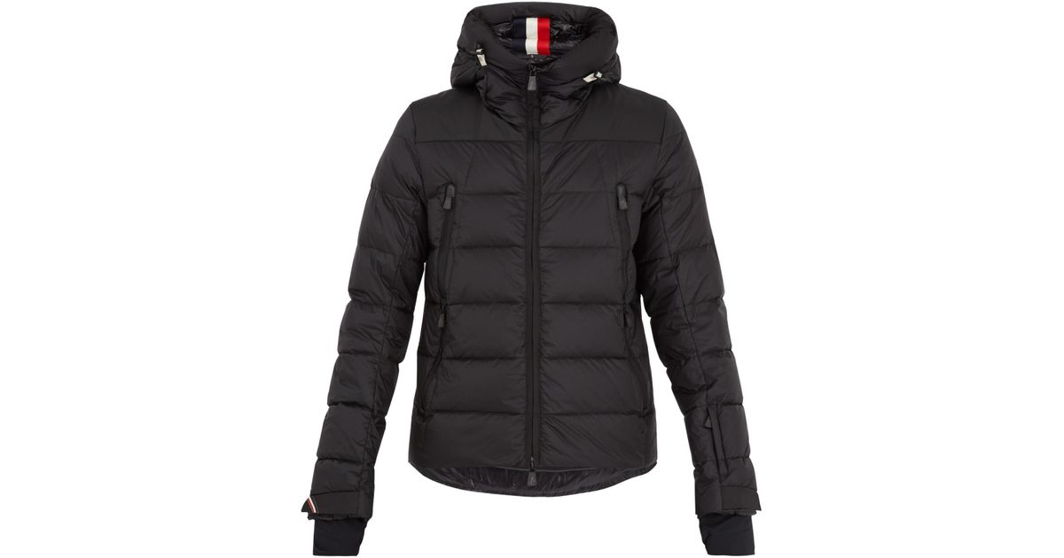 e0eb48c87f458 Lyst - Moncler Grenoble Camurac Hooded Quilted Down Jacket in Black for Men