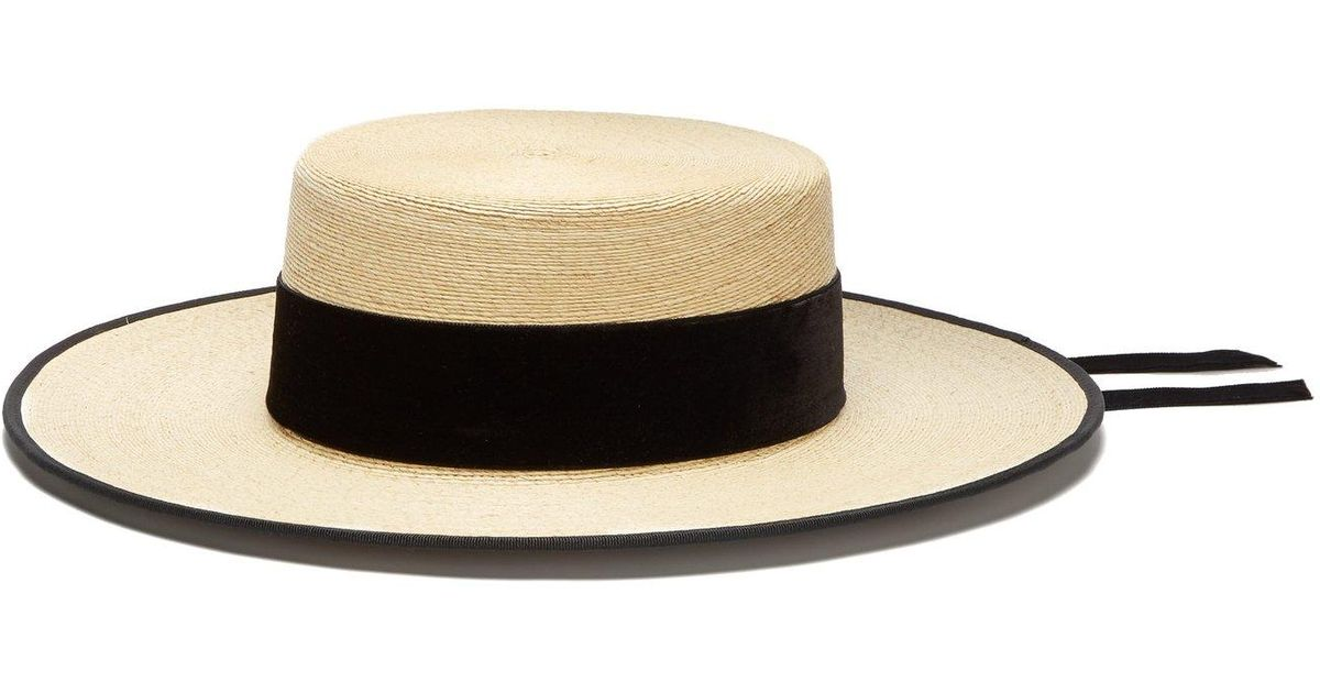 0b0c2853dc9 Lyst - Eliurpi Cordobes Straw Hat in Natural