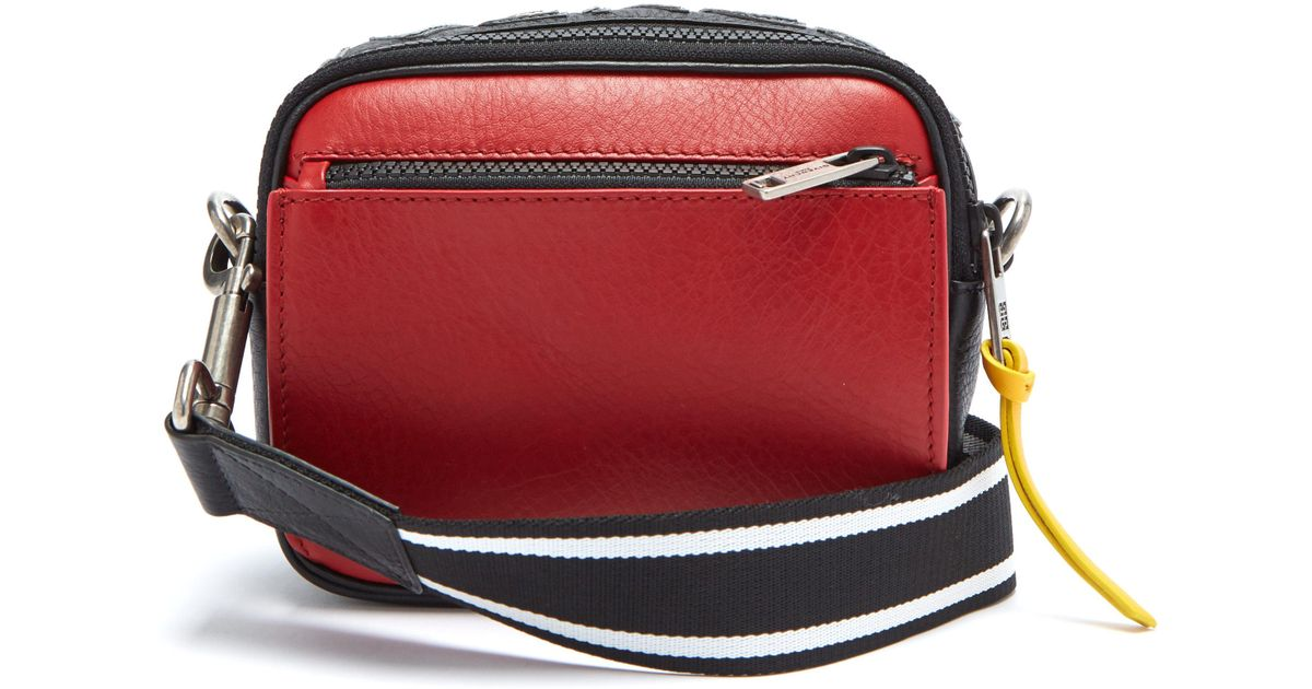 Givenchy Mc3 Leather Cross Body Bag in Black for Men - Lyst e9c97001e8