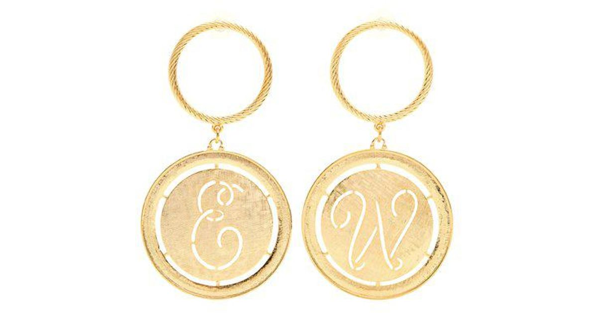 Emilia Wickstead Lucie ballerina-drop earrings yae0ssz