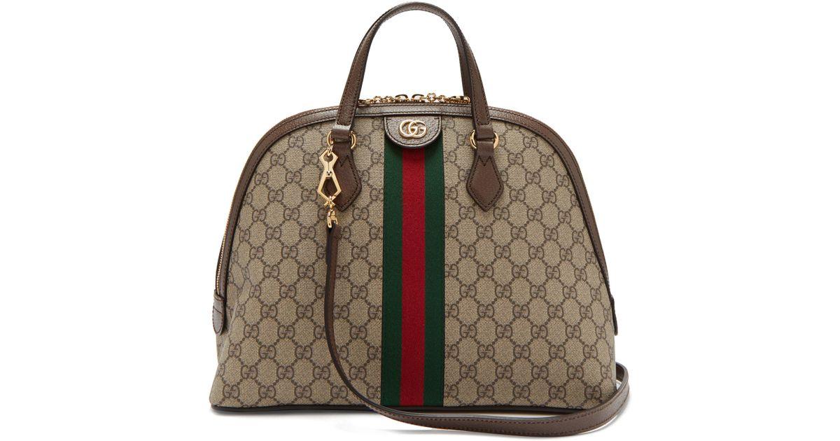 3332942141fe Gucci Ophidia Gg Supreme Tote Bag - Lyst