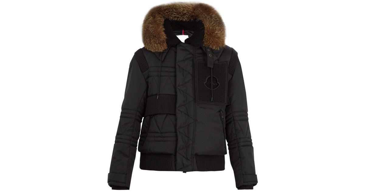 5c21245c8115 Moncler - Black X Craig Green Connor Down Jacket for Men - Lyst