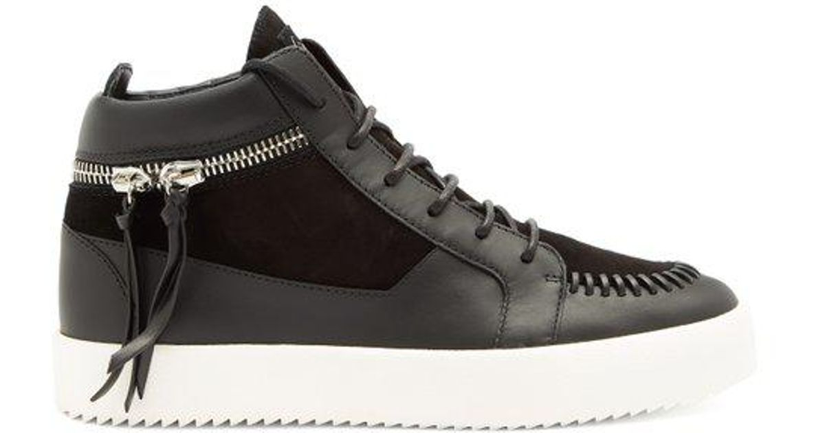 Whipstitch high-top trainers Giuseppe Zanotti
