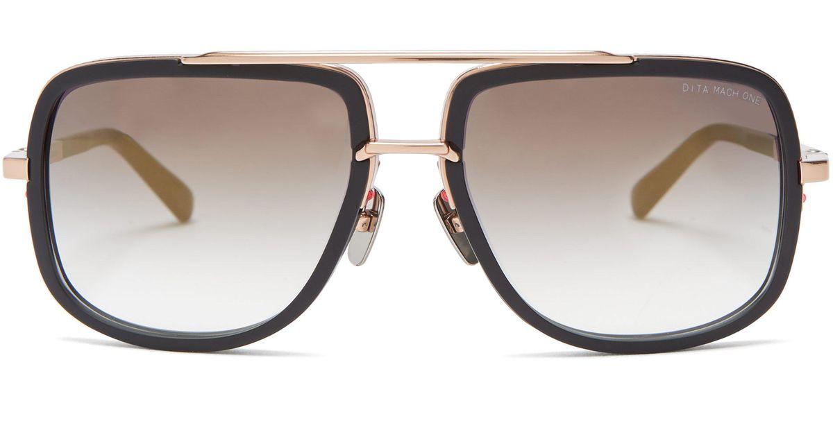 a40d720b2fa Dita Eyewear Mach-one Titanium Sunglasses in Black for Men - Lyst