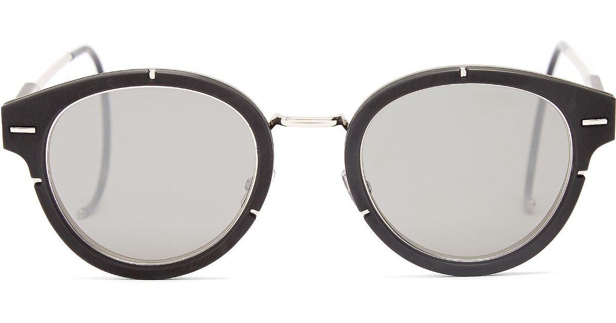 dc23e29ef97 Dior Homme Magnitude 0.1 Round-frame Sunglasses in Black for Men - Lyst