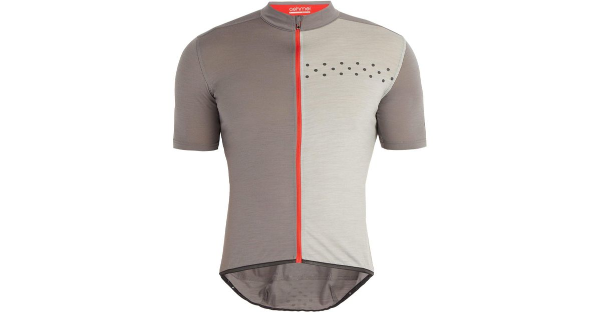 Lyst - Ashmei Kom Technical Cycling Jersey in Gray for Men 8e261bab5