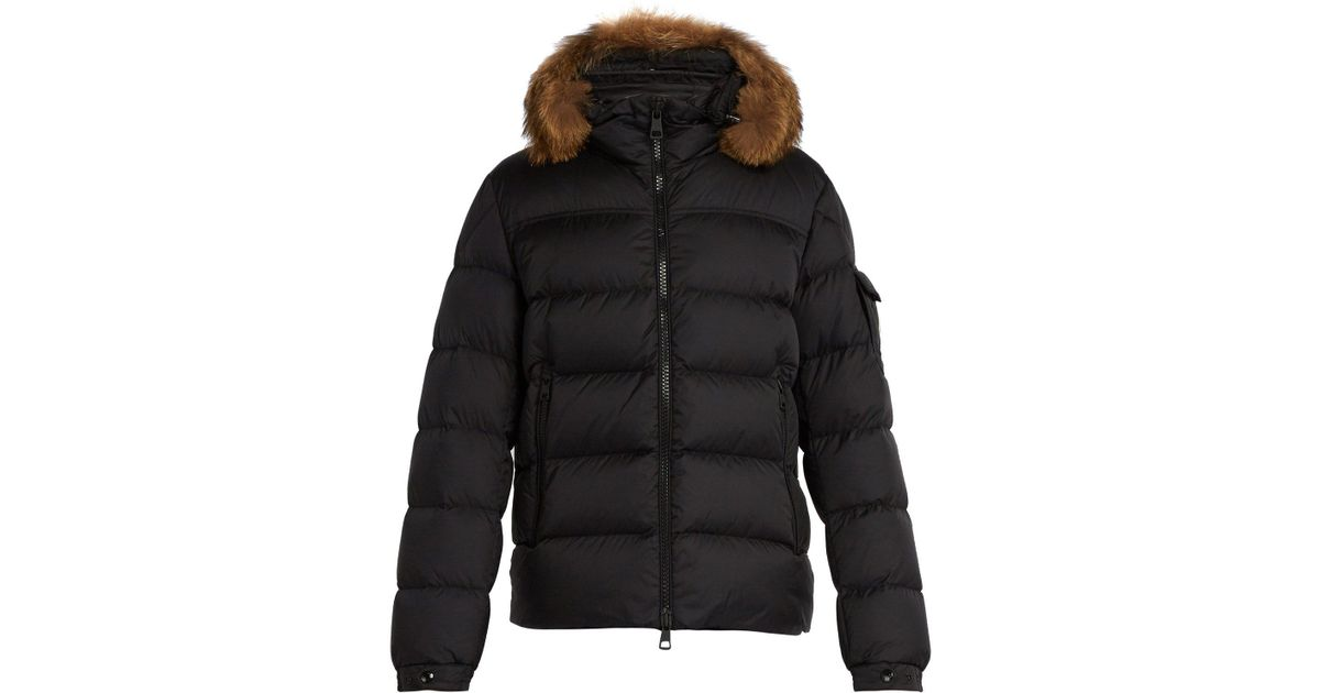 9a3f86182272 Lyst - Moncler Marque Quilted-down Jacket in Black for Men