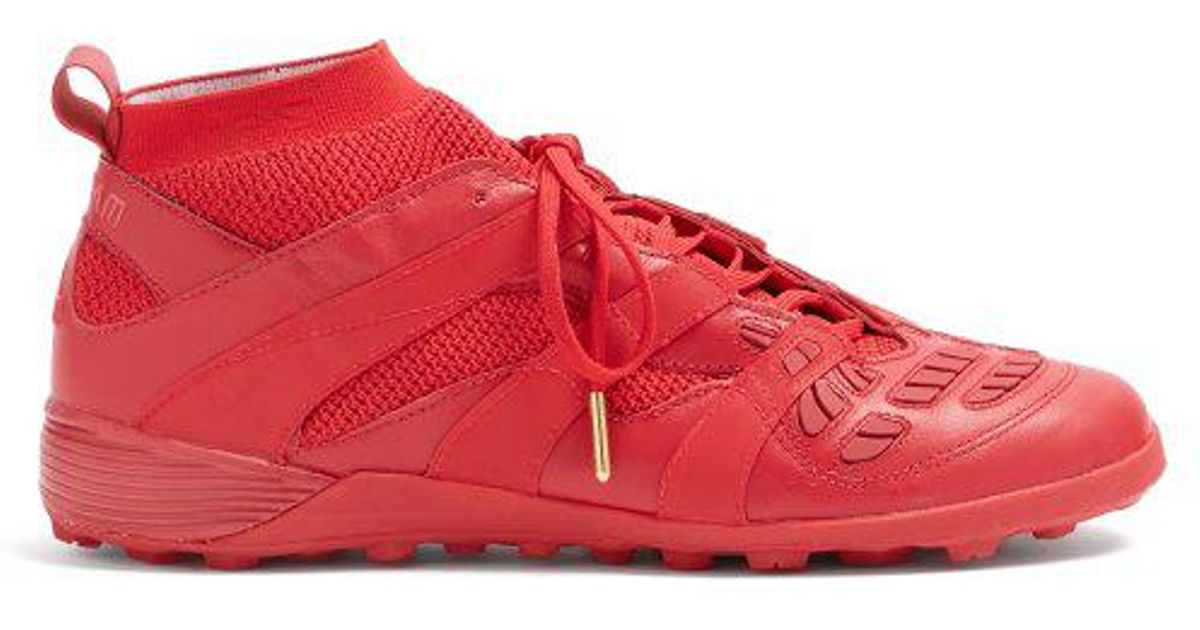 online retailer 4b3e3 34e0a adidas Originals X David Beckham Accelerator Tf Low-top Trainers in Red for  Men - Lyst