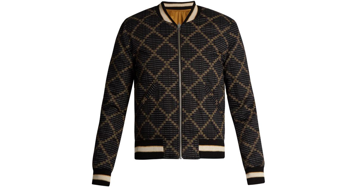 56b9f202db Lyst - Étoile Isabel Marant Dabney Printed Cotton Bomber Jacket in Red