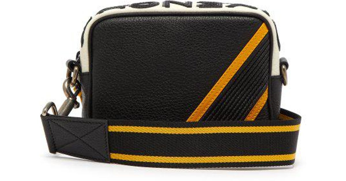 Givenchy Mc3 Leather Cross-body Bag in Black for Men - Lyst 64cb40f8f3