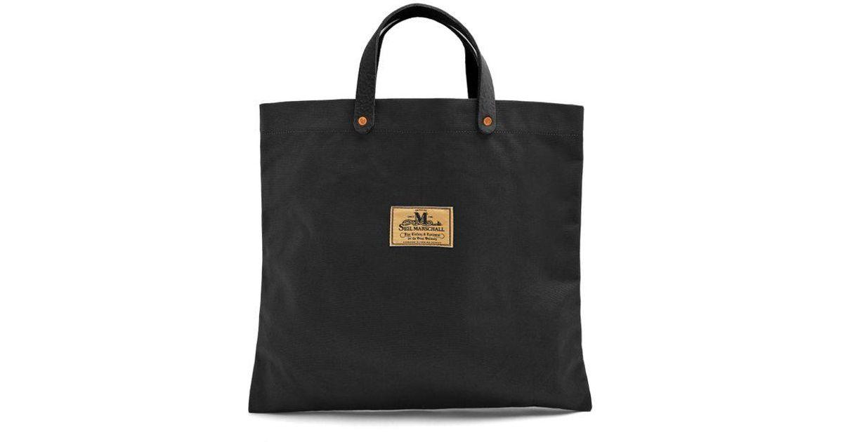 165bcb228d Lyst - Junya Watanabe X Seil Marschall Cotton-canvas Tote Bag in Black for  Men