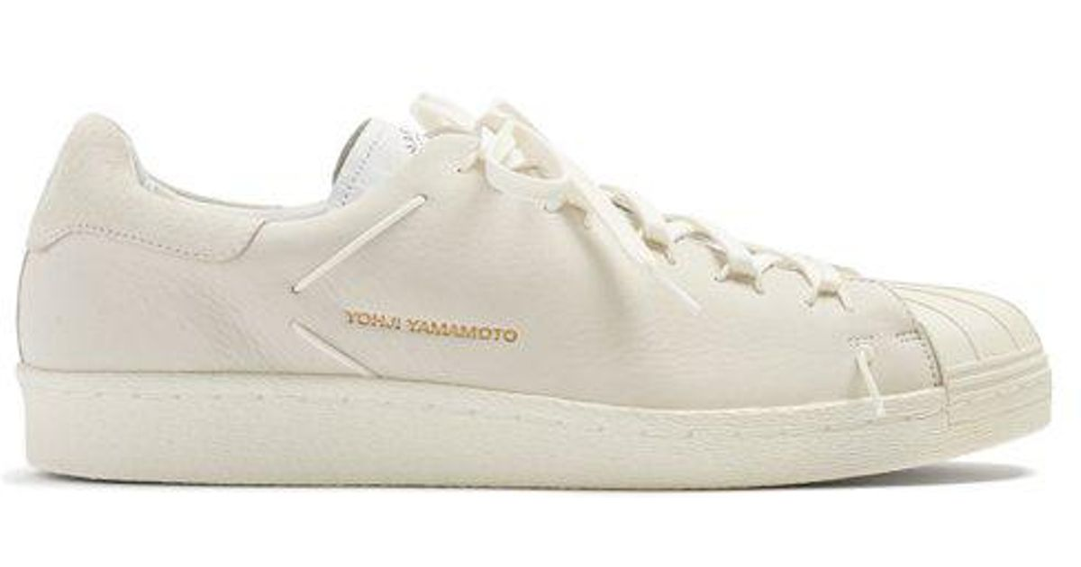 18e658f88d90 Lyst - Y-3 Superknot Superstar Suede Low-top Trainers in White for Men