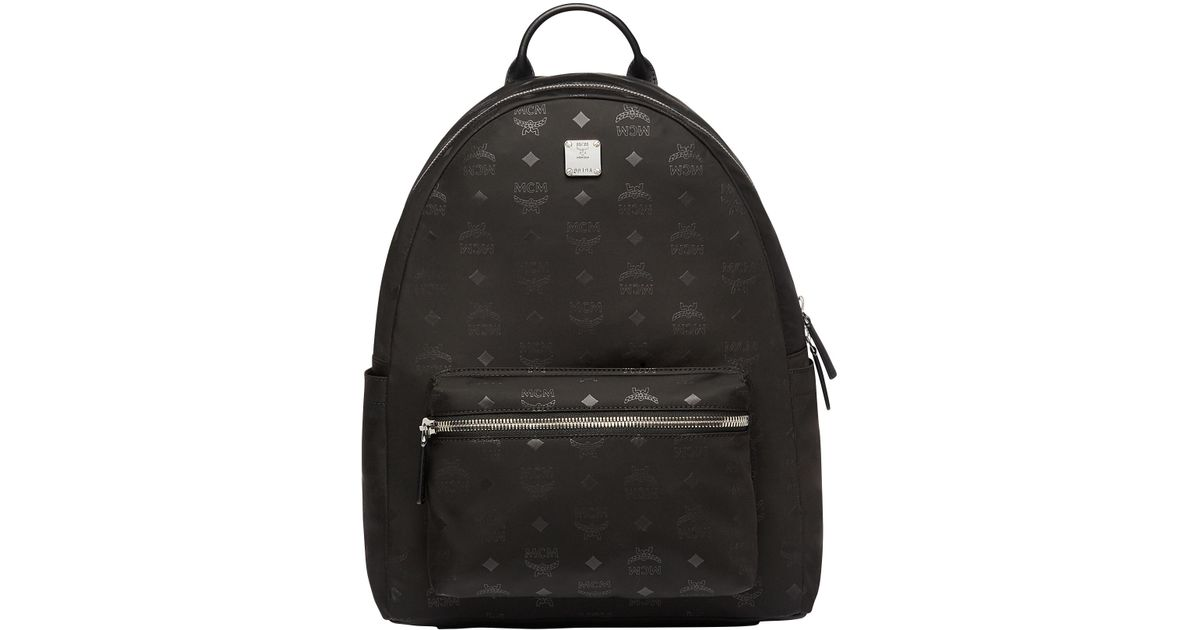 974cf924b576 MCM Stark Classic Backpack In Monogram Nylon in Black for Men - Save 5% -  Lyst