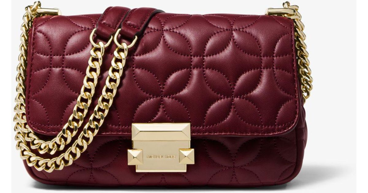 28d7cbeb935b Michael Kors Sloan Small Quilted Leather Shoulder Bag - Best Quilt ...