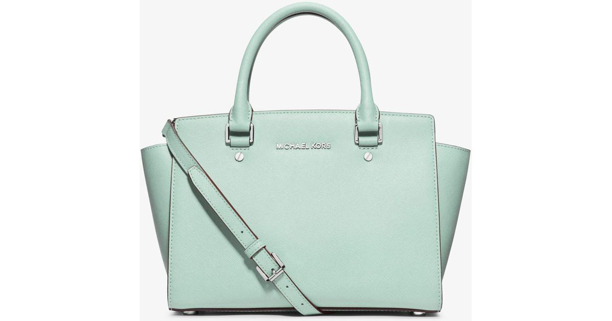 15e2c2a0c5 Just purchased at a Lyst - Michael Kors Selma Medium Saffiano Leather  Satchel in ...