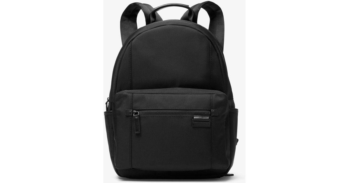 07d6da2086bf Michael Kors Travis Nylon Backpack in Black for Men - Lyst