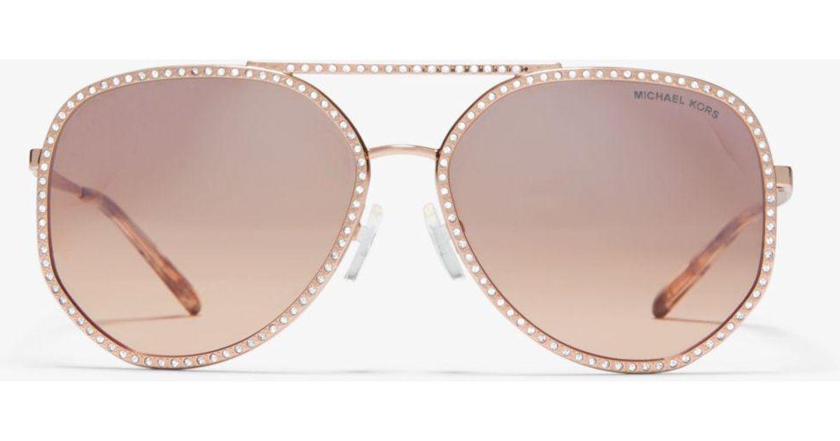 bc6e81bf2 Michael Kors Miami Sunglasses - Lyst