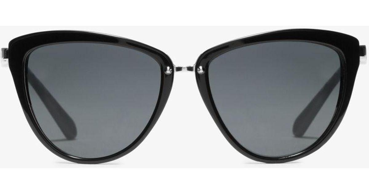 441fbd56b8 Michael Kors Abela Ii Sunglasses in Black - Save 51% - Lyst